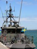 Militair Schip Royalty-vrije Stock Afbeeldingen