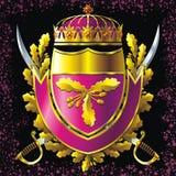 Militair stijlkenteken royalty-vrije illustratie