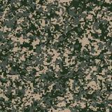 Militair Stoffenpatroon. Naadloze Textuur. Royalty-vrije Stock Afbeeldingen