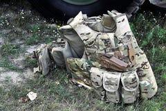 Militair tactisch vest royalty-vrije stock fotografie