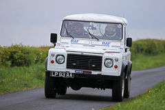 Militair Team in Jim Clark Rally Stock Foto