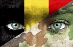 Militair van België stock afbeeldingen