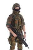Militair van Bundeswehr. Stock Foto's
