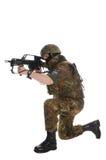 Militair van Bundeswehr. Stock Afbeeldingen