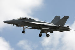 Militair vliegtuig Stock Fotografie