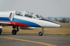 Militair vliegtuig royalty-vrije stock foto