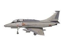 Militair vliegtuig Royalty-vrije Stock Foto's