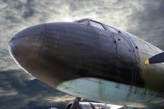 Militair vliegtuig Royalty-vrije Stock Afbeeldingen