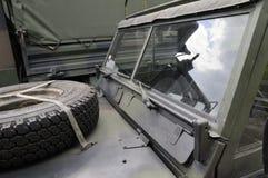Militair voertuig Stock Fotografie