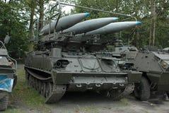 Militair voertuig Royalty-vrije Stock Foto