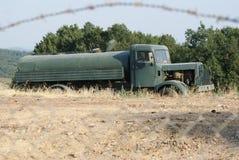 Militair voertuig Stock Afbeeldingen