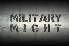 Militair zou kunnen Stock Foto's