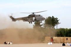 Militaire actie door het Koninklijke Leger van Nederland Stock Foto
