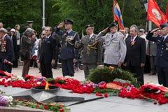 Militaire ambtenaren van Duitsland, Engeland, Amerika Royalty-vrije Stock Fotografie