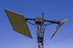 Militaire antena Stock Afbeelding