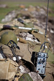 Militaire apparatuur royalty-vrije stock foto's