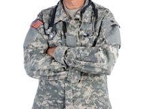 Militaire Arts in Eenvormig Gevecht royalty-vrije stock afbeelding