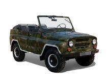 Militaire auto stock illustratie