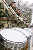 Militaire band Stock Afbeelding