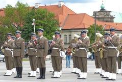 Militaire band Royalty-vrije Stock Afbeeldingen