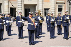 Militaire band Royalty-vrije Stock Foto's