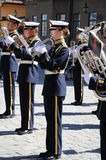 Militaire band Royalty-vrije Stock Afbeelding