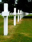 Militaire begraafplaats Royalty-vrije Stock Afbeelding