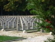 Militaire Begraafplaats Stock Afbeeldingen