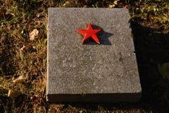 Militaire begraafplaats Royalty-vrije Stock Fotografie