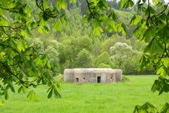 Militaire bunker Stock Afbeelding