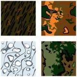 Militaire camouflage Royalty-vrije Stock Afbeeldingen