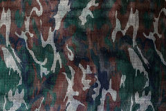 Militaire camouflage netto achtergrond Stock Fotografie