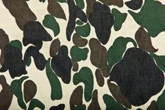 Militaire camouflageachtergrond Royalty-vrije Stock Afbeelding