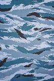 Militaire camouflagedoek Stock Afbeelding