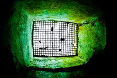 Militaire catacomben Stock Afbeeldingen