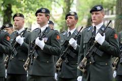 Militaire Ceremonie - Nederland royalty-vrije stock afbeeldingen