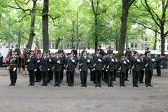 Militaire Ceremonie - Nederland royalty-vrije stock foto