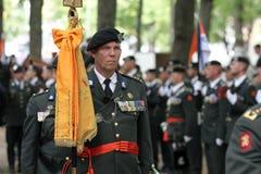 Militaire Ceremonie - Nederland royalty-vrije stock foto's