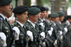 Militaire Ceremonie - Nederland stock afbeelding