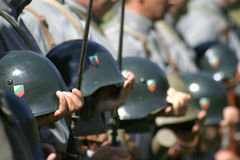 Militaire dicer Royalty-vrije Stock Foto's