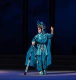 """militaire eenvormig de XIAOQING-vijfde handeling steelt onsterfelijk-Kunqu Opera""""Madame Witte Snake† royalty-vrije stock afbeeldingen"""