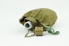 Militaire fles Stock Afbeeldingen