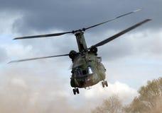 Militaire helikopter royalty-vrije stock afbeelding