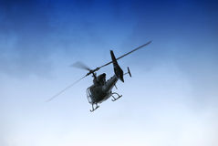 Militaire helikopter Stock Afbeelding