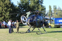Militaire helikopter Stock Fotografie