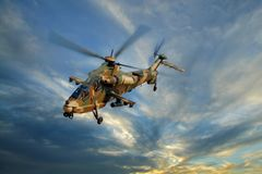 Militaire helikopter Royalty-vrije Stock Afbeelding