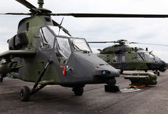 Militaire helikopters Royalty-vrije Stock Afbeelding