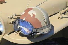 Militaire helm royalty-vrije stock fotografie