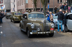 Militaire herinneringsparade Stock Foto