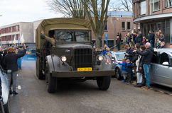 Militaire herinneringsparade Stock Afbeelding